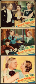 "Movie Posters:Comedy, You're Telling Me (Paramount, 1934). Lobby Cards (3) (Approx. 11"" X14""). From the Collection of Frank Buxton, of which th...(Total: 3 Items)"