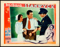 "Night Nurse (Warner Brothers, 1931). Lobby Card (11"" X 14"")"