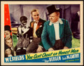 """Movie Posters:Comedy, You Can't Cheat an Honest Man (Universal, 1939). Lobby Card (11"""" X14"""").. ..."""