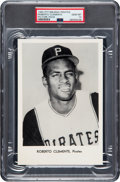 Baseball Cards:Singles (1960-1969), 1965 Pittsburgh Pirates Team Issue Roberto Clemente PSA Gem Mint 10- Pop One! ...