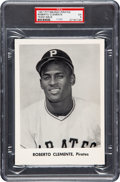 Baseball Cards:Singles (1950-1959), 1957 Pittsburgh Pirate Team Issue Roberto Clemente PSA EX 5 - PopOne, None Higher. ...
