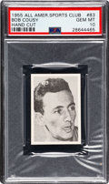Basketball Cards:Singles (Pre-1970), 1955 All American Sports Club Bob Cousey #83 PSA Gem Mint 10....