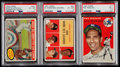 Baseball Cards:Lots, 1954 & 1961 Topps New York Yankees Greats PSA-Graded Trio (3)....
