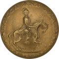 Political:Tokens & Medals, Zachary Taylor: Rare Equestrian Clothing Button. ...