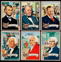 """Non-Sport Cards:Sets, 1956 Topps """"U.S. Presidents"""" Complete Set (36). ..."""