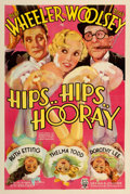 "Movie Posters:Comedy, Hips, Hips, Hooray (RKO, 1934). One Sheet (27"" X 41""). From theCollection of Frank Buxton, of which the sale's proceeds w..."