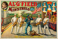 """Movie Posters:Miscellaneous, Al G. Field Greater Minstrels (Courier Company, 1907). Theater Poster (28.5"""" X 42"""").. ..."""