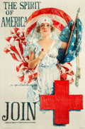 """Movie Posters:War, World War I """"Christy Girl"""" Recruiting Poster (The American RedCross, 1919). Howard Chandler Christy Poster (20"""" X 30"""") """"The..."""