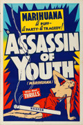 """Movie Posters:Exploitation, Assassin of Youth (Roadshow, 1937). One Sheet (28"""" X 42"""").. ..."""