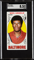 Basketball Cards:Singles (Pre-1970), 1969 Topps Wes Unseld #56 SGC NM+ 7.5....