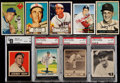 Baseball Cards:Lots, 1939 - 2006 Leaf/Topps/Rawlings Card Collection (30) - With SignedMusial Card. ...