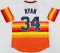 "Autographs:Jerseys, Nolan Ryan ""Don't Mess with Texas!"" Signed Houston AstrosJersey...."
