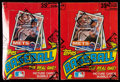 Baseball Cards:Unopened Packs/Display Boxes, 1985 Topps Baseball Wax Box Pair (2) - Each With 36 Unopened Packs. ...