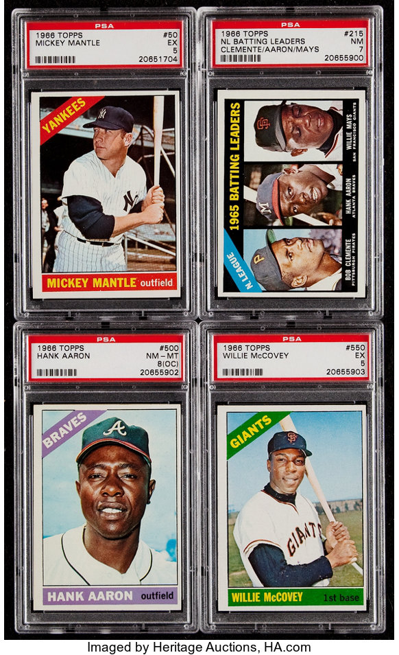 1952 Topps Retro Set W 2 Mickey Mantles Babe Ruth Jackie Robinson Willie Mays