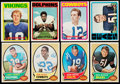 Football Cards:Lots, 1970-75 Topps Basketball & Football Collection (168)....