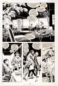 Original Comic Art:Panel Pages, John Buscema and Al Williamson Wolverine #4 Story Page 20Original Art (Marvel, 1989)....