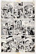 Original Comic Art:Panel Pages, John Buscema and Chic Stone Giant-Size Fantastic Four #2Story Page 11 Original Art (Marvel, 1974)....