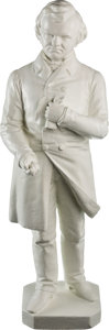 Political:3D & Other Display (pre-1896), Stephen A. Douglas: Sensational 1860 Plaster Statue by Leonard W. Volk....