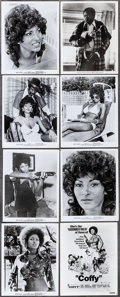 "Movie Posters:Blaxploitation, Coffy & Other Lot (American International, 1973). Photos (18) & Color Photo (8"" X 10""). Blaxploitation.. ... (Total: 19 Items)"