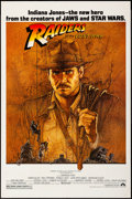 """Movie Posters:Adventure, Raiders of the Lost Ark (Paramount, 1981). Fan Club One Sheet (27"""" X 41""""). Artwork by Richard Amsel. Adventure.. ..."""