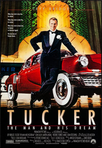 """Tucker: The Man and His Dream (Paramount, 1988). One Sheet (27"""" X 41"""") SS. Drama"""