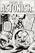 Original Comic Art:Covers, Dick Ayers Tales to Astonish #27 Cover Recreation Original Art (1994)....