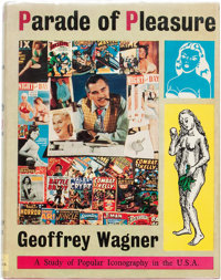 Parade of Pleasure by Geoffrey Wagner Hardcover Edition with Dust Jacket (Derek Verschoyle Limited, 1954)