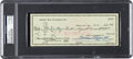 Football Collectibles:Others, 1960 Vince Lombardi Signed Green Bay Packers Payroll Check....