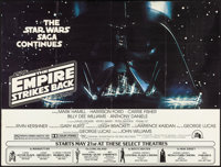 "The Empire Strikes Back (20th Century Fox, 1980). New York Subway (59"" X 44.5"") Advance. Science Fiction"