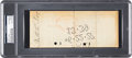 Autographs:Checks, 1927 Wally Pipp Signed Check for the Use of His Name....