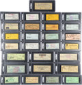 Autographs:Checks, 1925-92 Hall of Famers Signed Checks Lot of 27.... (Total: 26 items)