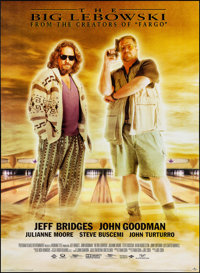 "The Big Lebowski (Gramercy, 1998). Bus Shelter (38.75"" X 53.5""). Comedy"