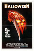 "Movie Posters:Horror, Halloween (Compass International, 1978). One Sheet (27"" X 41"").Blue Ratings Box Style, Artwork by Bob Gleason. Horror.. ..."