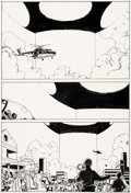 Original Comic Art:Panel Pages, Moebius (Jean Giraud) Silver Surfer