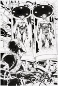 Original Comic Art:Splash Pages, Mike Deodato and Joe Pimentel The Amazing Spider-Man #513 Splash Page 22 Original Art (Marvel, 2004)....