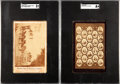 Non-Sport Cards:Lots, 1879 - 1889 United States Presidents Cabinet Card Pair (2). ...