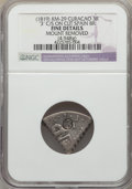 Curacao, Curacao: Dutch Colony Counterstamped 3 Reaal ND (1819) Fine Details (Mount Removed) NGC,...