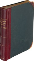 Books, Hall, Thomas P. Coin and Medal Collection Ledger. ...