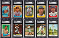 Baseball Cards:Autographs, Signed 1955-65 Baseball Card Collection (23) - Featuring Stars & HoFers....