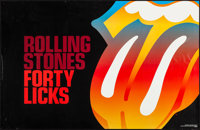 "Rolling Stones (RST Concerts, 2002). Personality Posters (2) (22"" X 34""). Rock and Roll. ... (Total: 2 Items)"