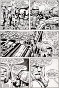 Original Comic Art:Panel Pages, Jack Kirby and Mike Thibodeaux Captain Victory and the GalacticRangers #8 Story Page 11 Original Art (Pacific Com...