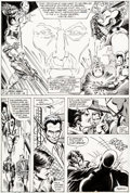 Original Comic Art:Panel Pages, John Romita Jr. and Bob Layton Iron Man #126 Story Page 8 Original Art (Marvel, 1979)....