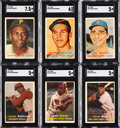 Baseball Cards:Lots, 1957 Topps Baseball Collection With Stars (283)....