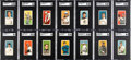 Baseball Cards:Sets, 1909-11 T206 White Borders Partial Set (290) Plus Extras. ...