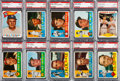 Baseball Cards:Lots, 1960 Topps Baseball PSA MINT 9 Collection, #201-299 (76)....