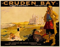 """Cruden Bay (London and North Eastern Railway, 1935). British Travel Poster (40.25"""" X 50.25"""") """"Seeker of G..."""