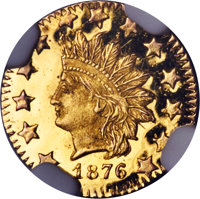 1876 50C Indian Round 50 Cents, BG-1065, R.5, MS67 Deep Mirror Prooflike NGC....(PCGS# 910894)