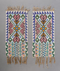 Other, A Pair of Ojibwe Loom-Beaded Bibs... (Total: 2 Items)