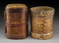 Tribal Art, Two Asian Containers... (Total: 2 Items)