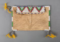 American Indian Art:Beadwork and Quillwork, A Plains Beaded Hide Pouch...